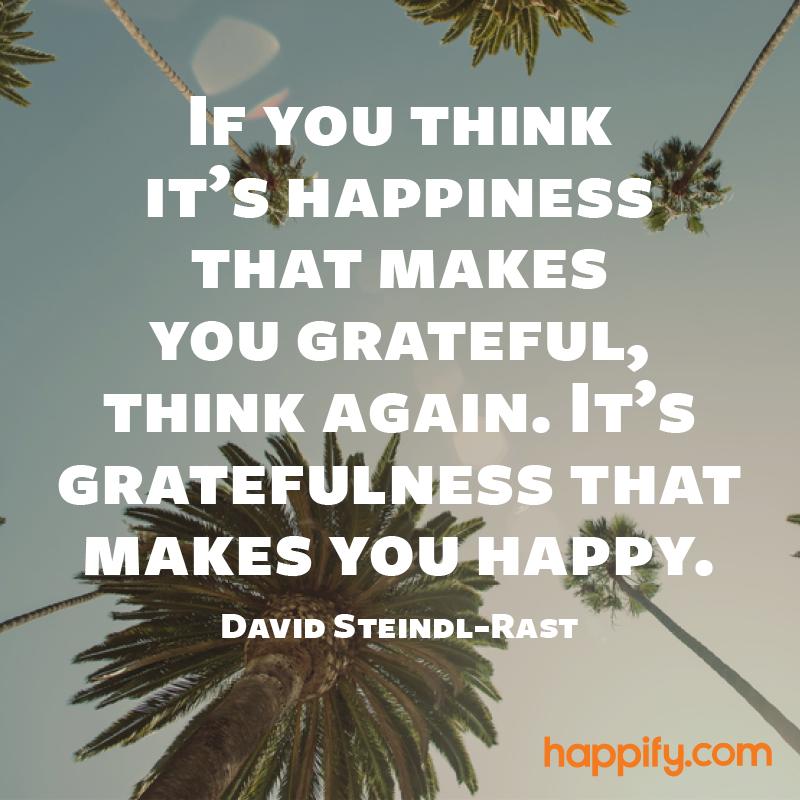 The True Relationship Between Gratitude and Happiness