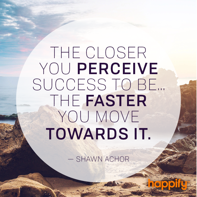 Shawn Achor Quotes Custom Is Success In Your Line Of Sight  Shawn Achor  Happify Daily