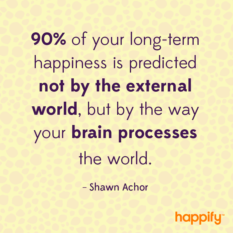 How Do You Process The World Shawn Achor Happify Daily Impressive Shawn Achor Quotes