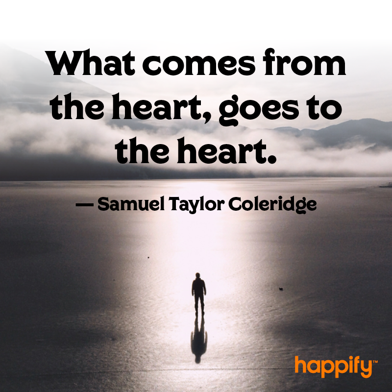 How Being Genuine Affects Others - Samuel Taylor Coleridge ...