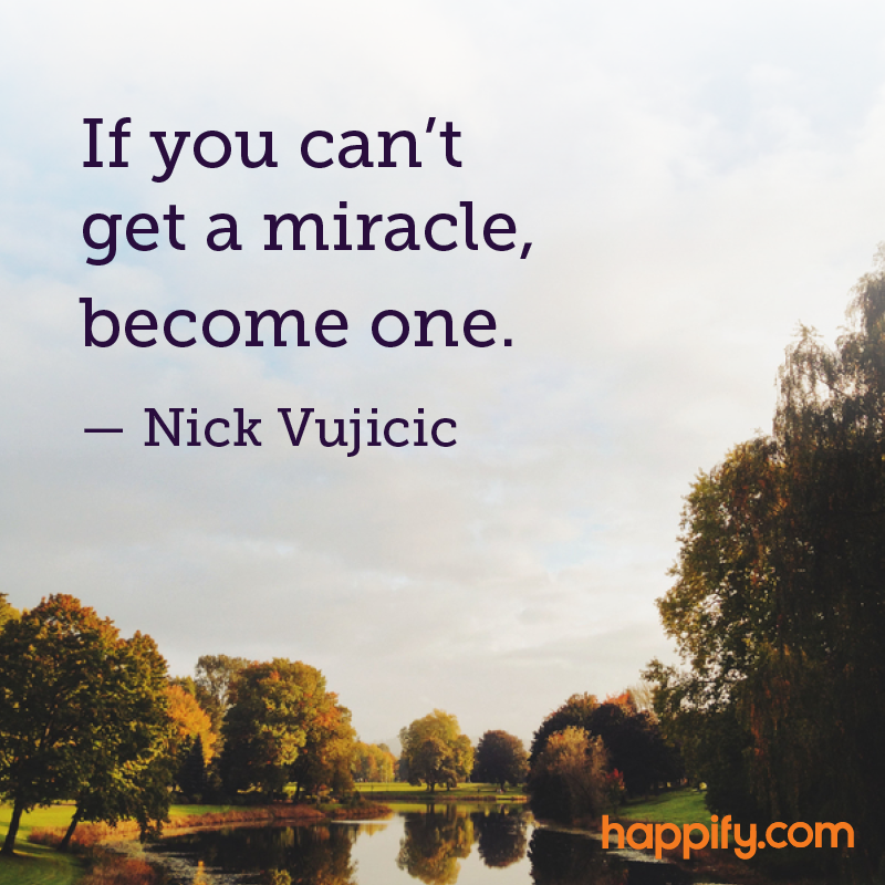 How To Create Your Own Miracles